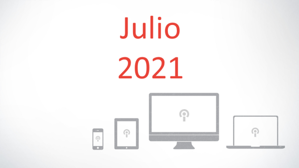 Series: Julio 2021